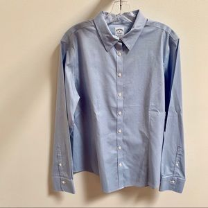 Brooks Brothers Non-Iron Fitted Light Blue Shirt